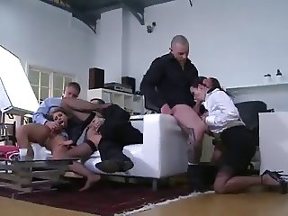 Secretaries Orgie in Office