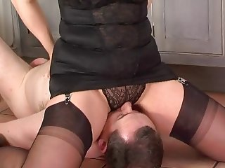 Strict wife makes long suffering husband pay for his errors