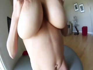 Big titted brunette milf gets tit fucked and wants cum