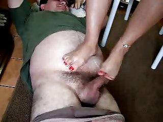 Fun Grabby Footjob