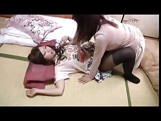 Asian Lesbian Face Farting