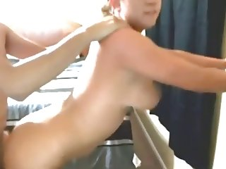 horny MILF doggystyle and riding cock