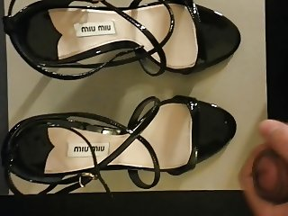 blasting gf's miu miu sandal heels
