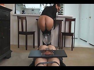 Cruel mistress CBT