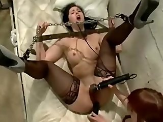 BDSM Lesbian Prison Girl Hard Fucks Her Lawyer