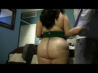 Big Jiggly Butt BBW Riding and Pounded By Her Man
