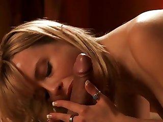 Anita's sensuous blowjob