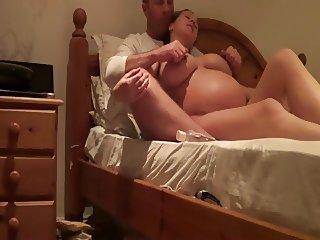 amateur couple woman pregnant