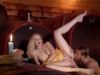 Czech girl get cum sprayed in her cunt after anal