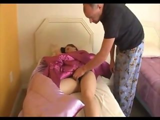 Dad seduced daughter for blowjob