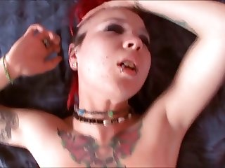 Punk Teen Tara Gets POV Cock