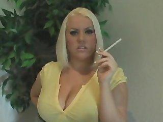 BBW Smoking Fetish MILF