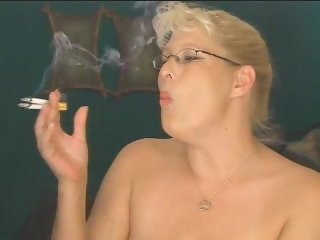 heavy smoking milf