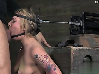Nude wife cum in mouth
