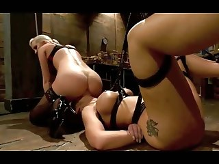 A Blonde Plays with a Milf OtO
