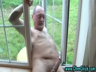 Cfnm bitches cumshot jerking cock