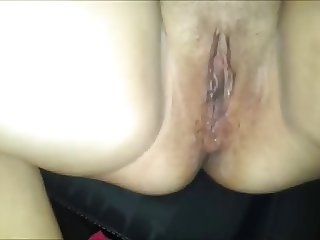 Euro hooker fucks client in car with condom iphone