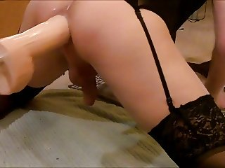 Machine fucked HARD part 1