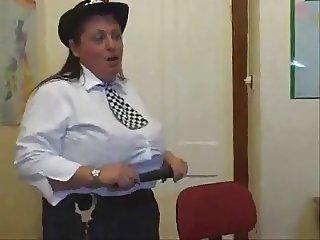 BBW Policewoman Fucks her Suspect