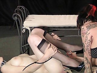 skinny pierced slave 1