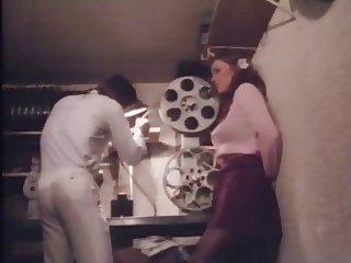Retro sex in the cinema