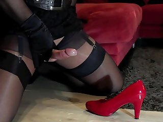 Foot Fetish in Nylon Stockings