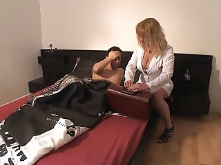 MILF Doctor Anal Fuck