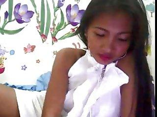 Belen Balao Ambatali Romance Scammer in White Dress 2