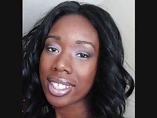 ebony facial queen