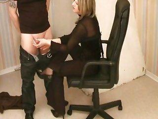 BDSM Femdom Handjob