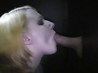 First ever irish homemade Gloryhole with Tia