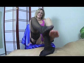 Jodi West Footjob