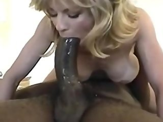 MILF ride a huge black cock