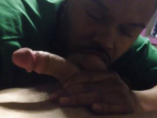 Black Thug Swallows Military Cum B4 Deploy