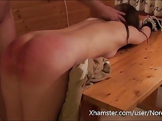 The beast spanking beautys little ass