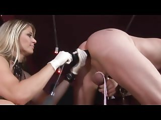 Kinky Mistress with Slaveboy