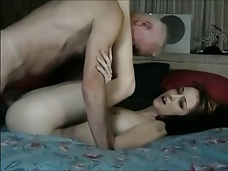 DENHAAGMAN - GRANDPA GIVES TEEN NEIGHBOUR SEX LESSON