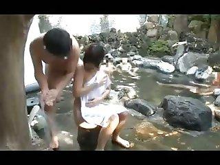 Japanese mixed bath