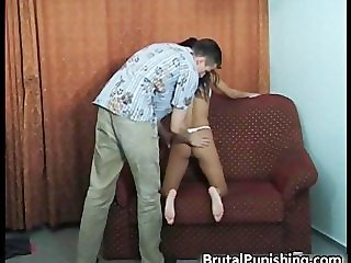 Hard-core bondage and brutal punishement part1