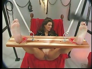 Male dom, tits,hot wax,spanking