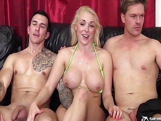 Victoria Summers, Ryan Ryder & Monty Cash