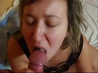 Dorcia swallows sperm compilation