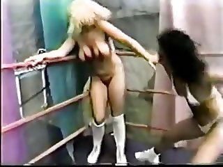 Pro Girls Vicious Tits & Sex Wrestling