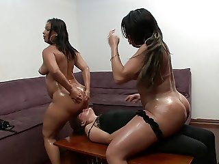 Giant Wet Brazilian Ass Domination