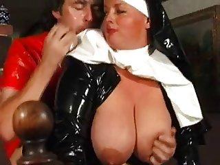 Naughty Buxom Nun