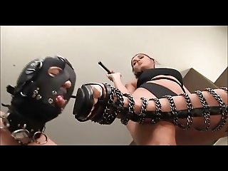 mistress use feet slave
