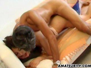 Amateur arab girlfriend sucks and fucks