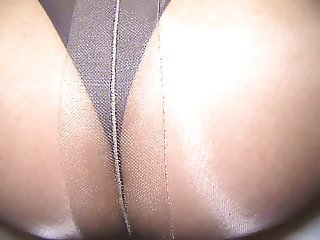 crossdresser pantyhose ass 037