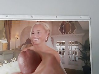 Here cums the bride (tribute)