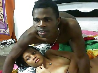 Young Dominican Couple Gets It In On Webcam